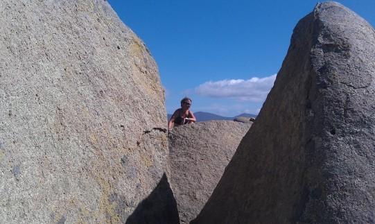 Susan at the top