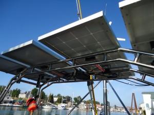 Solar Panel Arch