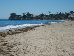 The beach at Santa Barbara