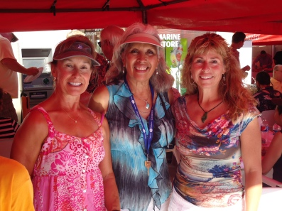 Susan, Ofilia, and Melinda