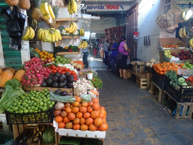 Shopping at the Mercado