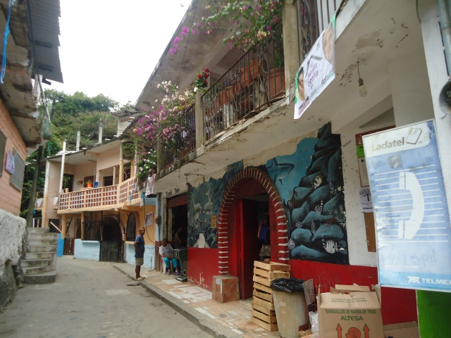 "The ""streets"" of Yelapa"