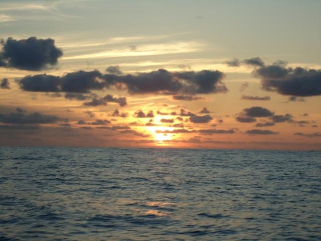 Unremarkable, except the sunrise.