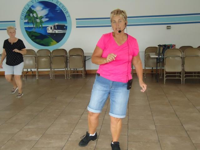Our teacher, Claudia