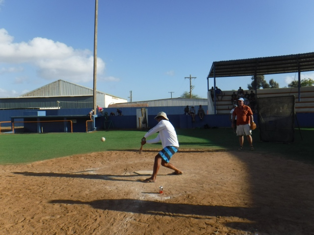 Championship Baseball Game in Turtle Bay