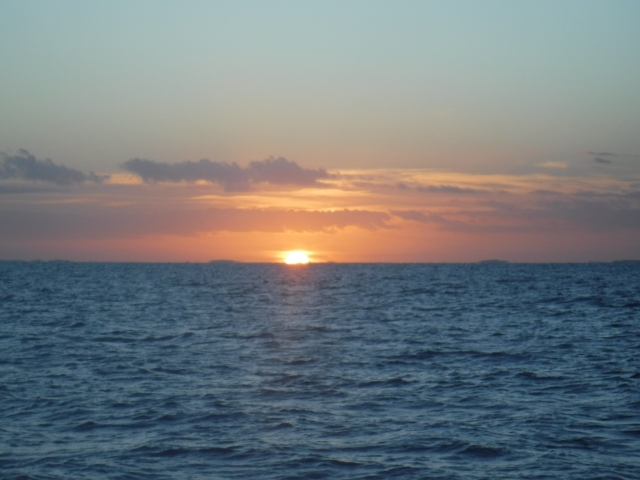 Sun Sets on Bahia Santa Maria