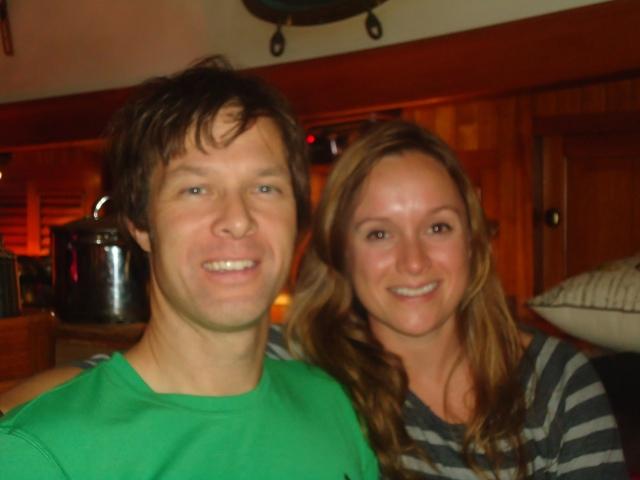 Alex and Krista